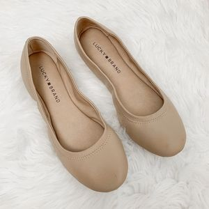 Lucky Brand Emmie nude flats